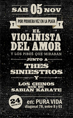 Flyer-Violin-LAPLATA-MYSPACE