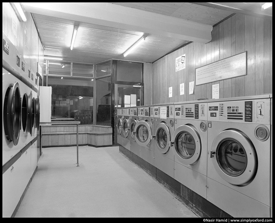 Laundrette interior