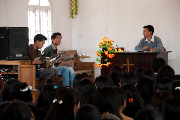 Música en la missa baptista