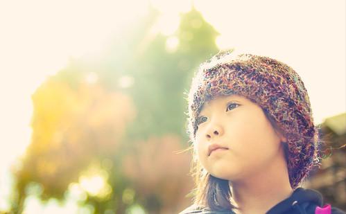 無料写真素材, 人物, 子供  女の子, 中国人, 帽子