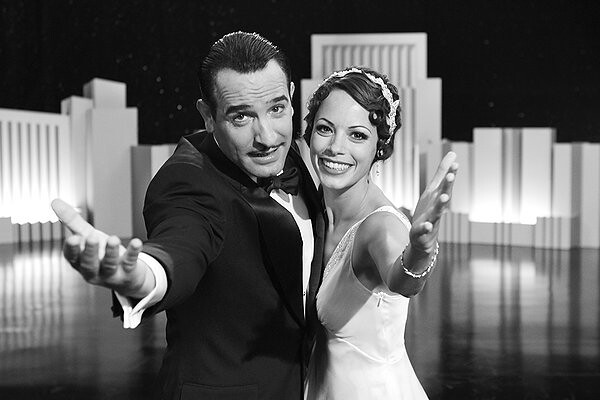 Jean Dujardin and Bérénice Bejo find their way to both each other and the audience in THE ARTIST.