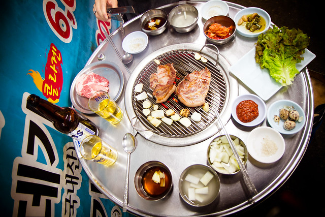 Korean Bbq Table Top Grill Korean Bbq Table Sponsored Links