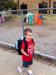 Brenden 1st Day At Kindergarten #2