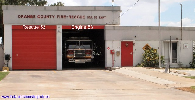 Orange County Fire Rescue Fire Station No 53 Flickr