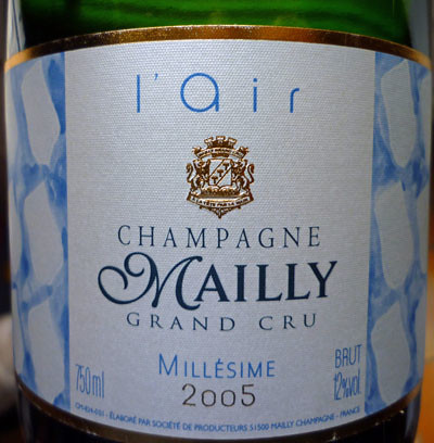 champagne mailly l'air