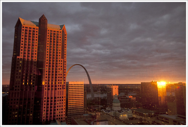 Downtown sunset 2011-12-30 2