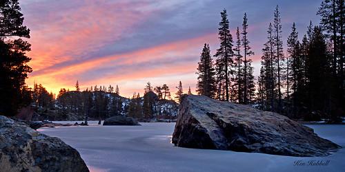 ice sunrise landscape nikon snakelake d3x 1635f4