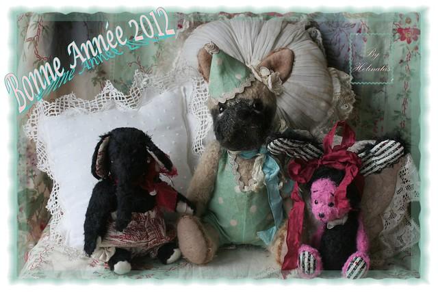 Bonne Année 2012 - Happy New  Year 2012