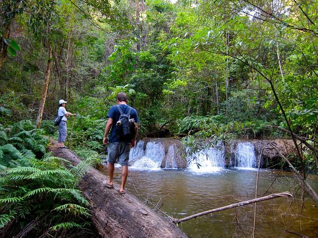 Trekking in Phonsavan, Laos