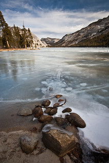 Frozen Tenaya Lake I