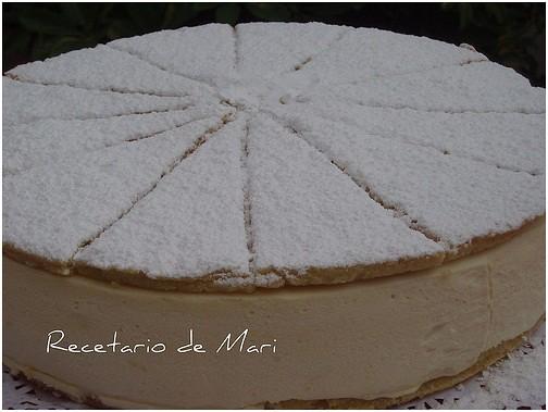 tarta de queso y nata 1