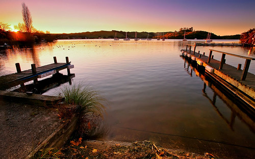 new winter sunset adam water boats photography bay colours yacht jetty zealand bolt okawa