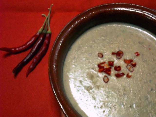Creamy Bean Soup_Crema de Frijol