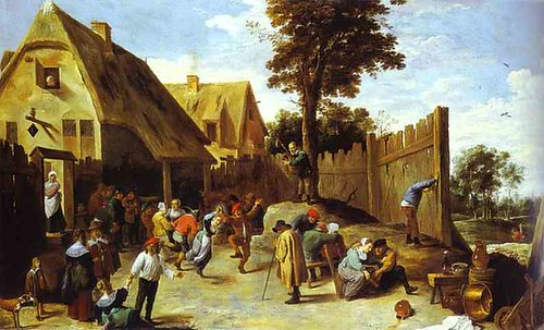 Teniers-peasants-dancing-1645