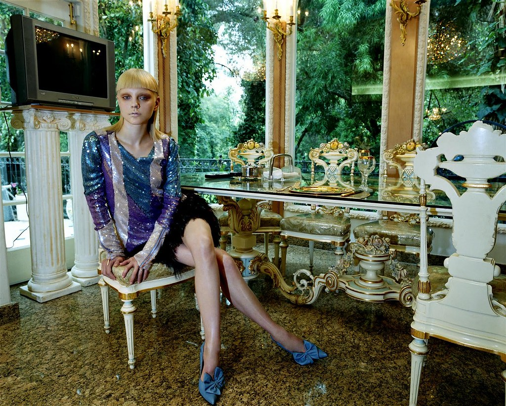 Steven Meisel for Vogue Italia Sep 2003 featuring Jessica Stam.