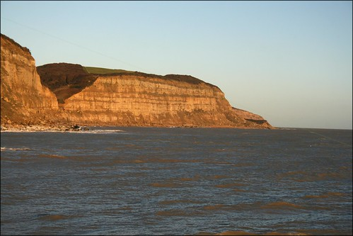 The cliffs east of Hastings