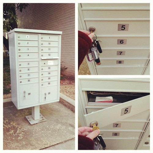 #janphotoaday #letterbox #day4 condo living