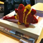 knitted Stegosaurus