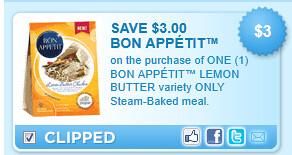 Bon Appetit Lemon Butter  Coupon