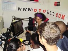 les écoliers de PVC au studio