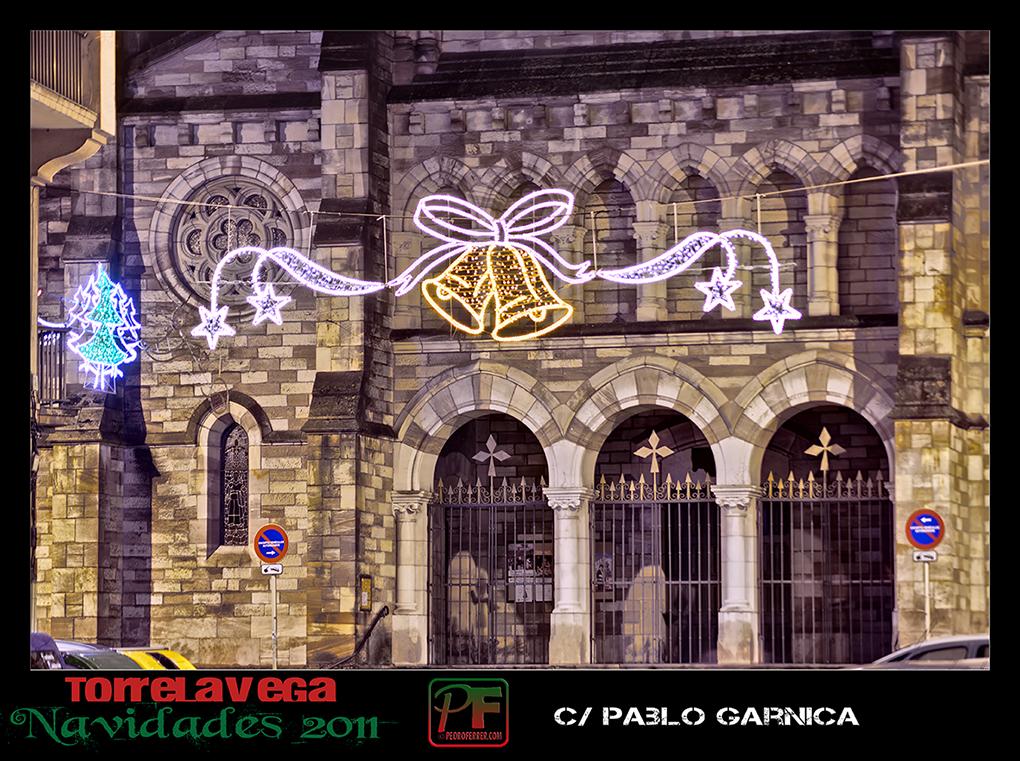 Torrelavega - Pablo Garnica - Iglesia de La Asunción - Navidades 2011