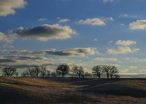 sunset landscape iowa hills easterniowa