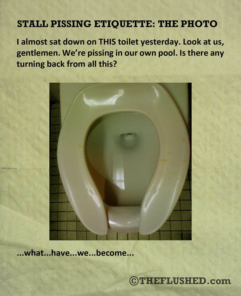 14 Stall Pissing Etiquette The Photo