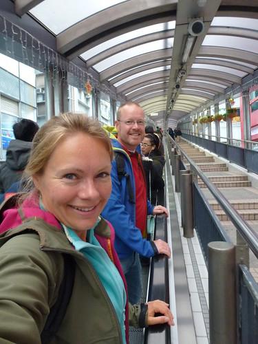 HongKong - midlevel escalators