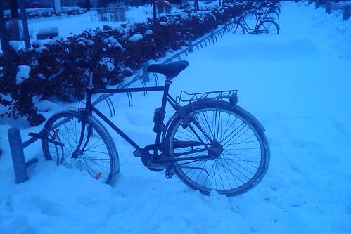 Vintercykel