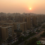 Sunset in Cairo, Egypt