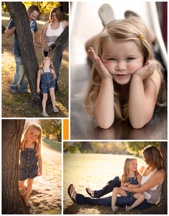 Family Portrait Shoot Highlights Variety B