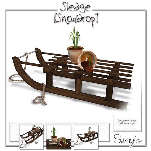 Sway's Sledge [Snowdrop], 60 lindens only this saturday by Cherokeeh Asteria