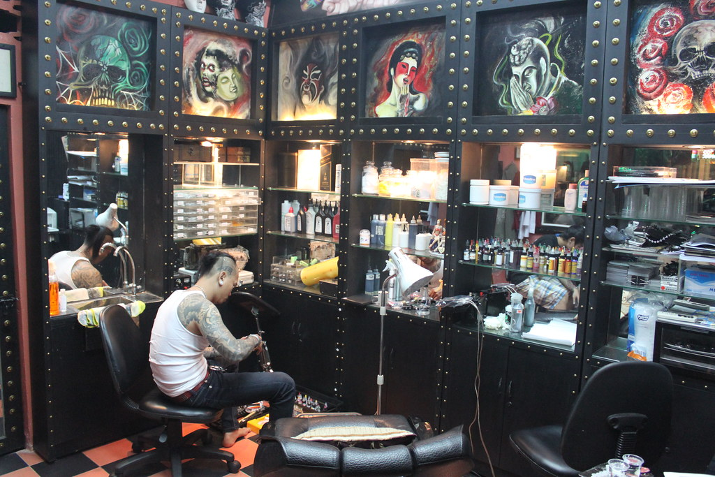 Tattoo Shop Design Ideas: Tattoo Station (With Images)