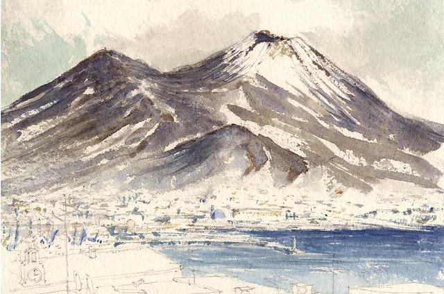 Vesuvio January