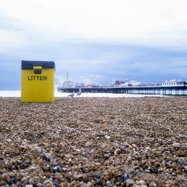 Some Final Brighton Clichés - Litter