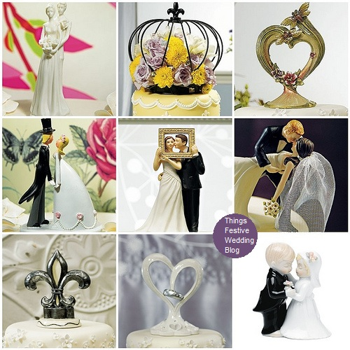 Vintage Wedding Cake Toppers Visit us at ThingsFestivecom for stylish