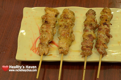 Yakitori Chicken Sticks