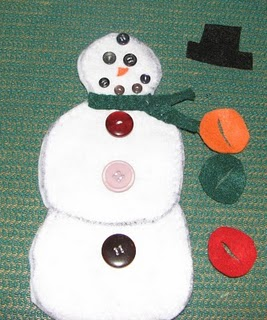 Button Snowman (Photo from Jada Roo Can Do)