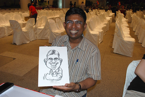 caricature live sketching for kidsREAD Volunteer Appreciation Day 2011 - 24