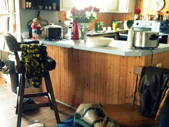 kitchen remodel - peninsula