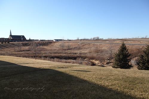 minnesota field in january