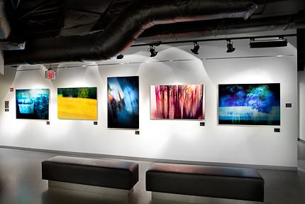 Pavla Teie's Photo Display at Boston University's CDIA Campus in Washington, DC
