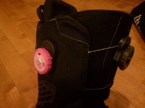 Pink reels for breast cancer