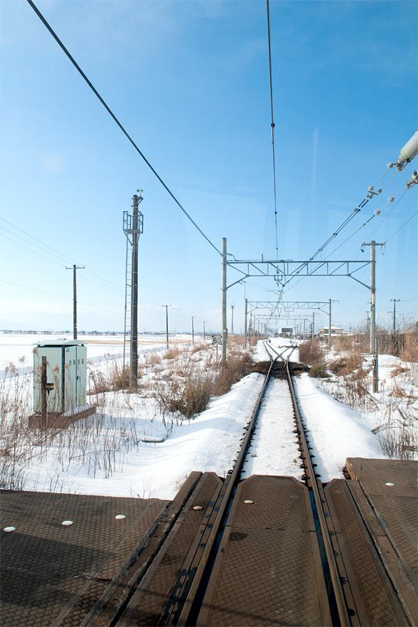 白新線(車窓から)