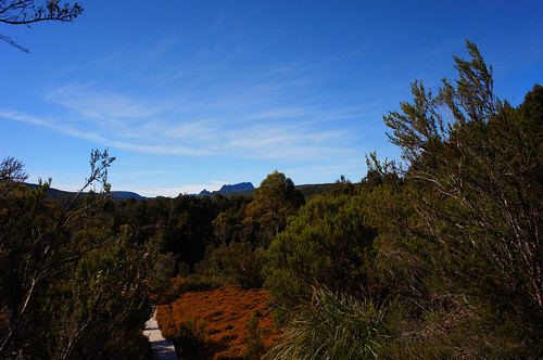 Cradle Mountain from King Billy Track
