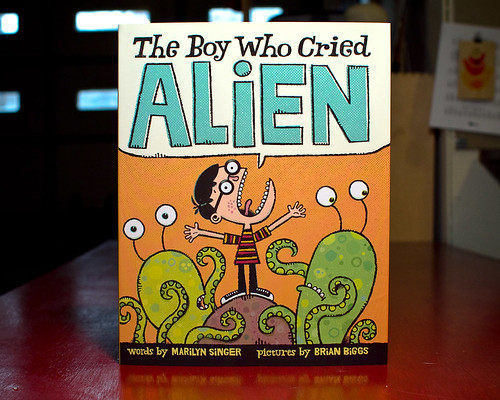 The Boy Who Cried Alien cover