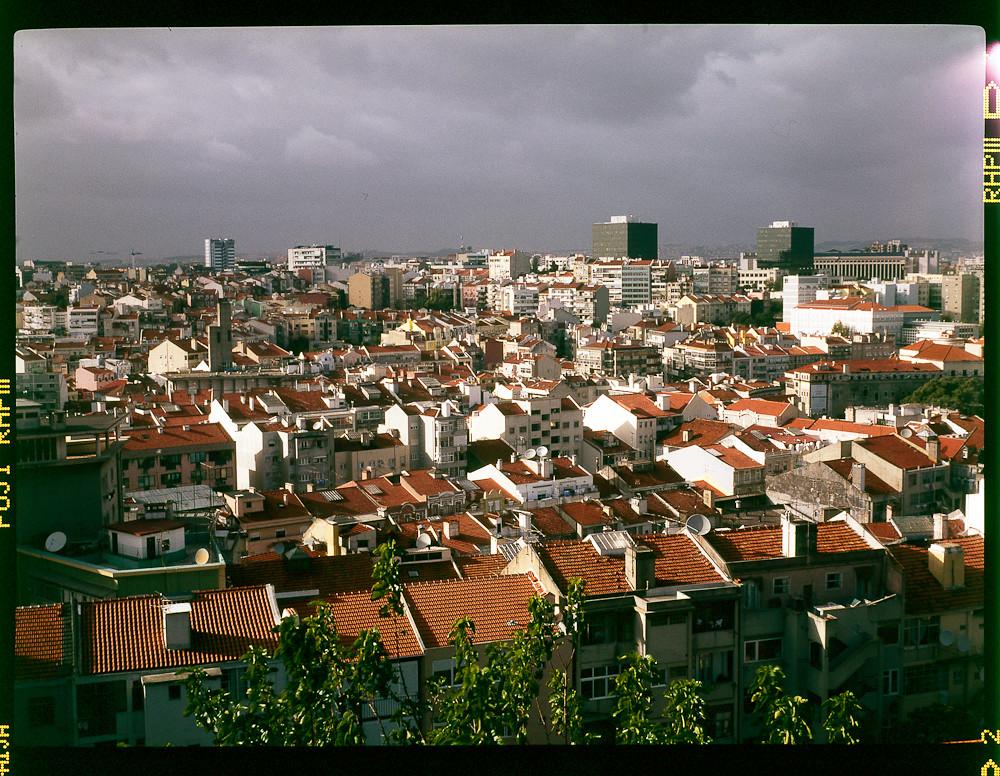 Lisbon North from Penha de França