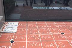Graffiti - MP Ferguson stopped listening to me, so I fired him! - Martin Ferguson protest