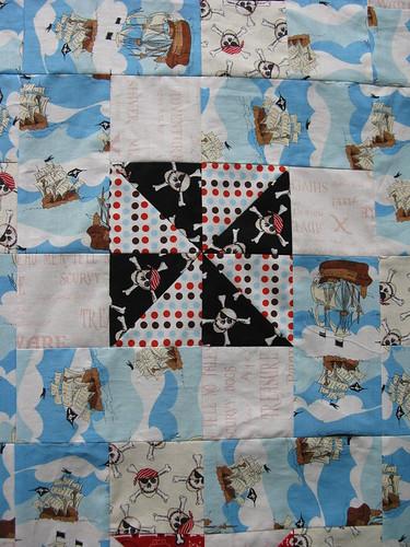 Pirate quilt