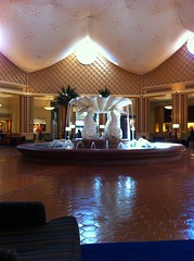 Lobby Fountains at the Dolphin